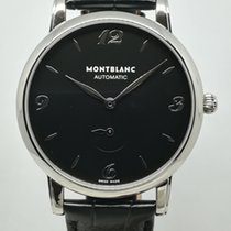Montblanc Star Classique Acero 39mm Negro Árabes