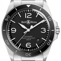 Bell & Ross BRV292-BL-ST/SST Otel BR V2 41mm nou