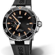 Oris Aquis Small Second 01 743 7733 4159-07 4 24 64EB Oris DATE SMALL SECOND Nero new