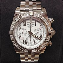Breitling Chronomat 44 AB0110AA - Diamond Set - Box &...