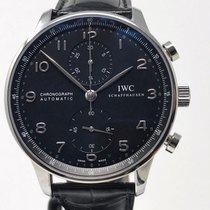 IWC Porutgieser Chronograph aus 2012 - Ref. IW371447  ungetragen