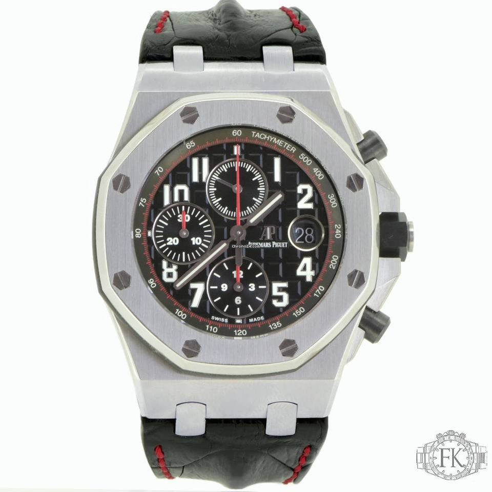 Audemars piguet royal oak offshore vampire chronograph for 23 045 for sale from a for Royal oak offshore vampire