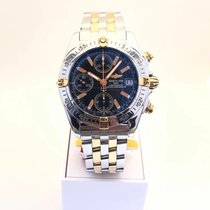 Breitling Chrono Cockpit Gold/Steel 39mm Black No numerals United States of America, New York, Flushing