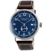 Hamilton Men's H78455543 Khaki Navy Pioneer Small Second Watch