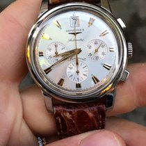 Longines Conquest Heritage chronograph chrono full set