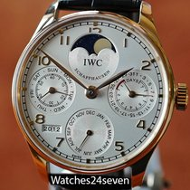 IWC Portuguese Perpetual Calendar Rose Gold 42mm