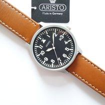 Aristo Beobachter Steel 42mm Black Arabic numerals
