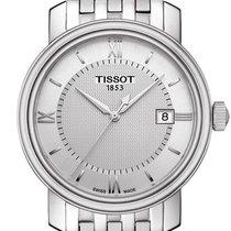 Tissot Bridgeport rabljen 40mm Srebro Datum, nadnevak Zeljezo