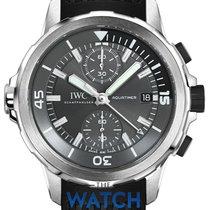 IWC Aquatimer Chronograph nuevo Automático Cronógrafo Reloj con estuche original