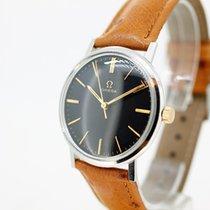 Omega Genève Handaufzug Black Dial cal 601 anno 1966