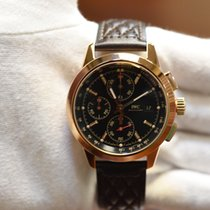 IWC Ingenieur Chronograph Red gold 42mm Black No numerals United States of America, California, Garden Grove