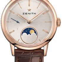 Zenith Elite Ultra Thin Rose gold 33mm Silver