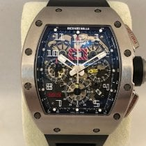 Richard Mille Titane 50mm Remontage automatique RM011 occasion
