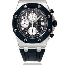 Audemars Piguet Chronograph 42mm Automatic 2010 pre-owned Royal Oak Offshore Chronograph Black