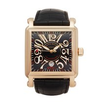 Franck Muller Conquistador Cortez Rose gold 45mm Black Arabic numerals United Kingdom, Bishop's Stortford