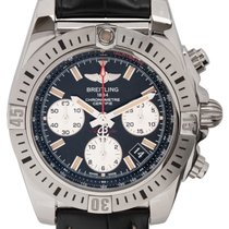 Breitling Chronomat 41 Steel 41mm Black
