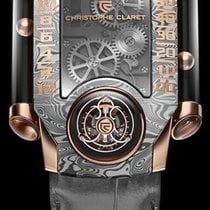Christophe Claret Gold/Steel 40.8mm Automatic MTR.FLY11.140 new