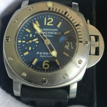 Panerai Luminor Submersible Steel 44mm Blue