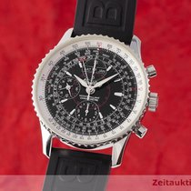 Breitling Montbrillant Datora Steel 43mm Black