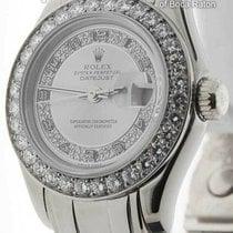 Rolex Lady-Datejust Pearlmaster Oro blanco 29mm