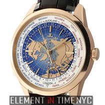Jaeger-LeCoultre Geophysic Universal Time Oro rosado 42mm Azul