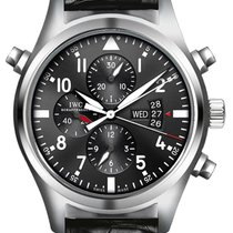 IWC Pilot Double Chronograph new 2012 Automatic Chronograph Watch with original box and original papers IW377801