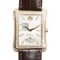 Piaget Emperador 18 K Rose Gold With Diamonds Silver Automatic...