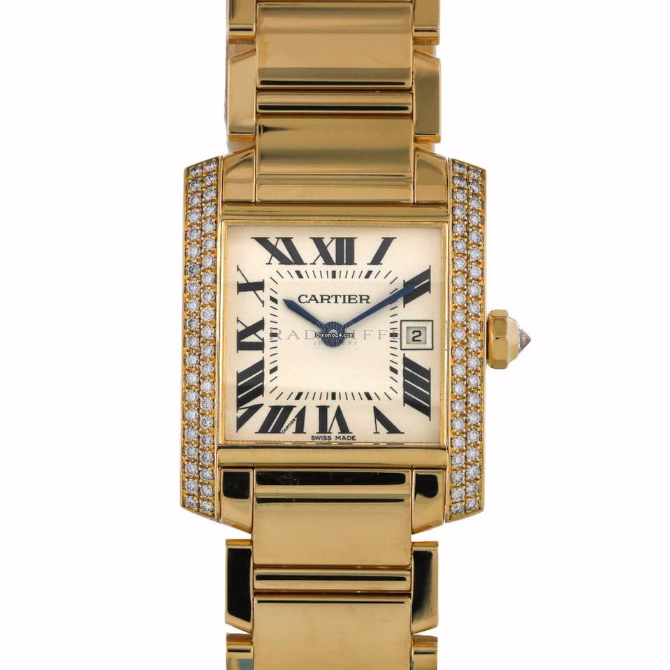 edeff98961cb Cartier Tank Française Yellow gold - all prices for Cartier Tank Française  Yellow gold watches on Chrono24