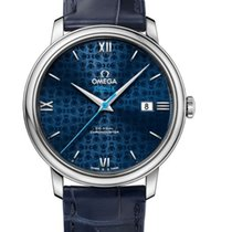 Omega De Ville Prestige Co-Axial Blue Dial 424.13.40.20.03.003
