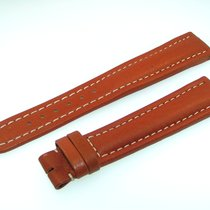 Breitling Band 19mm Brown Marron Calf Strap Ib19-23