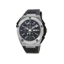 IWC Ingenieur Double Chronograph Titanium Titanium 46mm Black No numerals United States of America, New York, New York