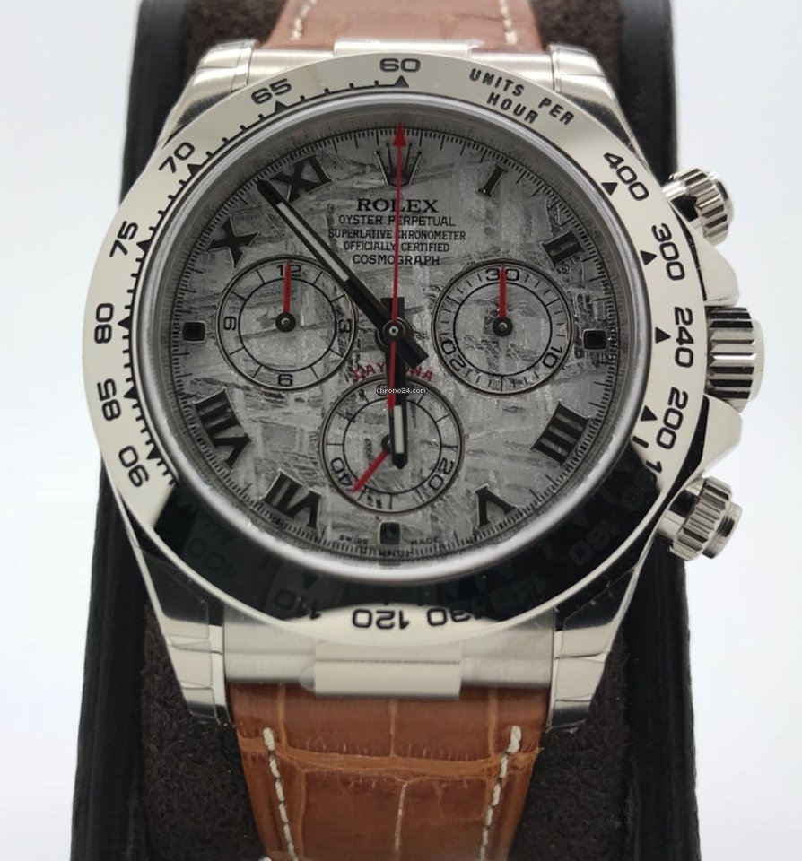 Rolex Daytona Meteorite Dial (Rolex Warranty Dial) for Price