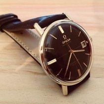 Omega Seamaster De Ville black dial crosshair mens vintage watch
