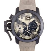 9c2939ec2756 Graham Chronofighter Oversize Black Arrow Celsius Beige 47mm.