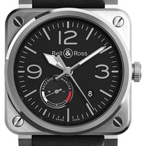Bell & Ross BR 03-97 Réserve de Marche Steel 42mm Black United States of America, New York, Airmont