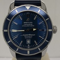 Breitling Superocean Heritage 46mm Blue Dial Automatic Rubber...