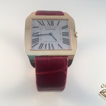 Cartier usados Cuerda manual 35mm Blanco Cristal de zafiro