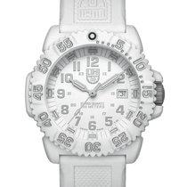 Luminox Navy Seal Swiss Quartz White Dial, Silicon Strap Round...