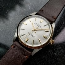 Rolex Vintage Oyster Perpetual 1005 Automatic 14k/SS 1960 Mens...