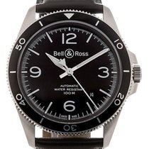 Bell & Ross Steel 41mm Automatic BRV292-BL-ST/SCA new