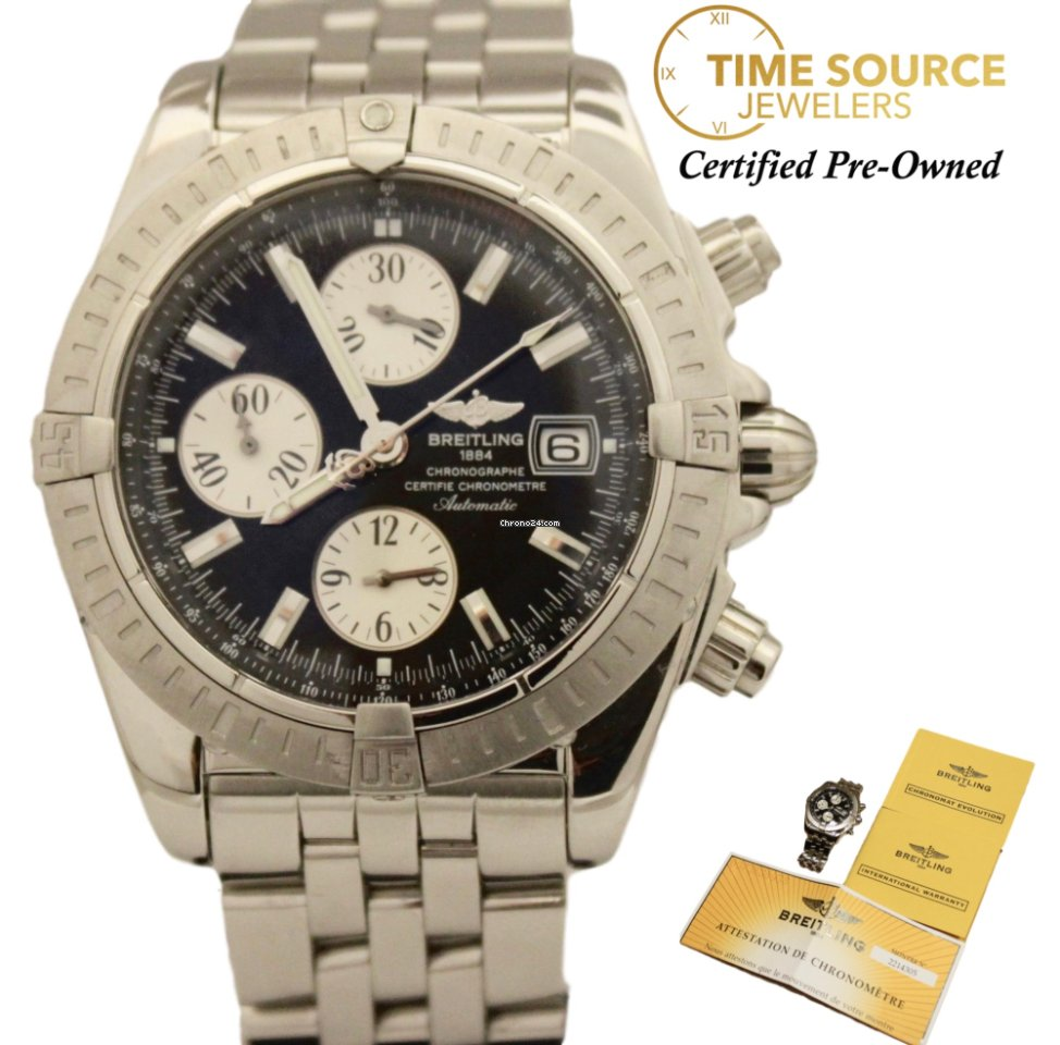 87ae2781a623 Breitling Chronomat Evolution - all prices for Breitling Chronomat  Evolution watches on Chrono24