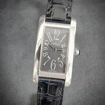 Cartier Tank Américaine pre-owned 19mm Crocodile skin