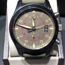 IWC Pilot Chronograph Top Gun Miramar pre-owned 44mm Ceramic