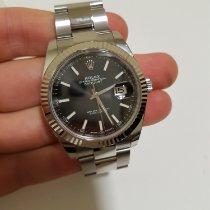 Rolex Datejust Stahl 41mm Keine Ziffern Schweiz, Lugano