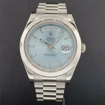 Rolex Day-Date II Platinum 41mm Blue United States of America, New York, New York
