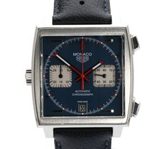 TAG Heuer CAW211A Steel Monaco Calibre 11 38mm pre-owned