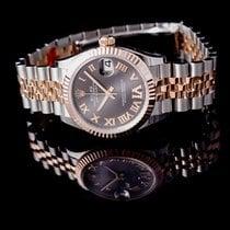 Rolex Datejust Or rose 31mm Argent