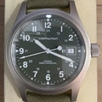 Hamilton Khaki Field Officer new Manual winding Watch with original box and original papers H694190