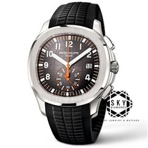 Patek Philippe Steel Automatic Black Arabic numerals 42.2mm new Aquanaut