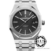 Audemars Piguet Royal Oak Selfwinding Сталь 41mm Чёрный Без цифр